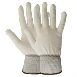 Gloves Media Handling (White)
